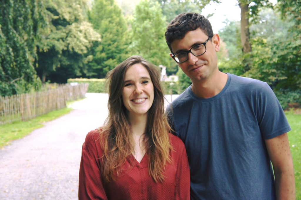 taalbuddy's Laura en Hassan